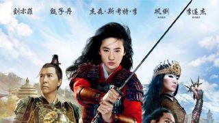 《花木兰》定档9月11日中国公映 中文海报发布