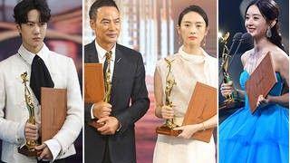 第30届中国电视金鹰奖:任达华童瑶拿下视帝视后