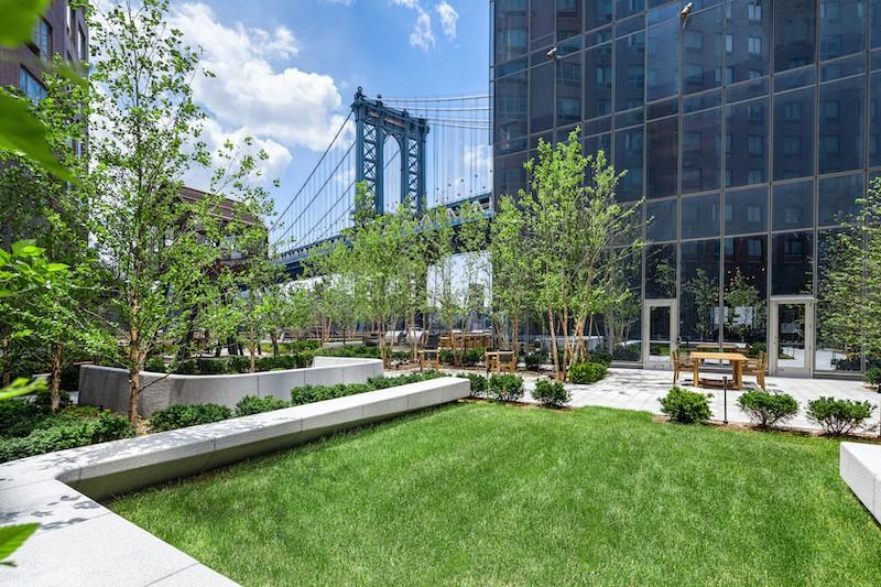 纽约最畅销楼盘曼哈顿广场一号 私家庭院惊艳亮相
