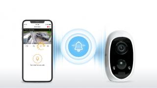 一键带地址报警+智能人形识别 iTalkBB AIjia 安防摄像头测评