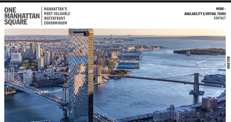 纽约最臻稀豪华公寓 曼哈顿广场一号网站全新改版