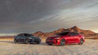 2022 Kia Stinger运动轿车亮相 在设计、安全性及科技方面继续升级