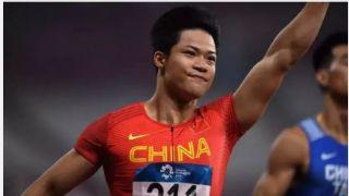 跑出10秒05 苏炳添创今年百米世界最佳