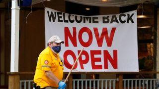 上周68.4万人首申失业救济 降至疫情以来最低水平