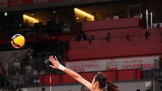 奥运测试赛:中国女排3比0横扫日本女排