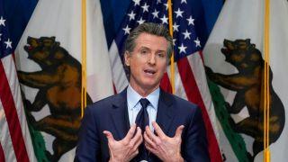 财政盈余超预期 纽森欲向2/3加州人再发600元