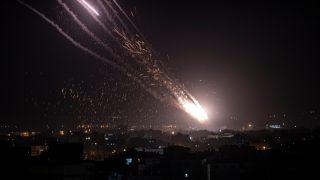 巴以冲突再度升级!圣殿山爆发冲突后双方互扔数十枚火箭弹