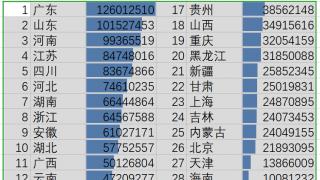 十大问题读懂中国人口普查数据:这些省份排前十