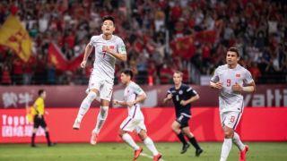 世预赛中国国足7-0大胜关岛 武磊阿兰梅开二度