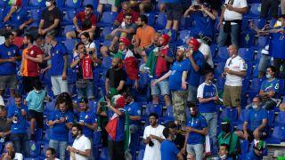 欧洲杯因疫情推迟一年终亮相 意大利获开门红【组图】