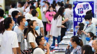 中国前5月城镇新增就业574万人