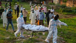 研究:印度三分之二人口有新冠抗体 实际死亡恐达400万