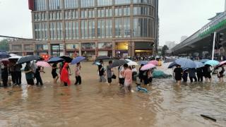 河南省气象台继续发布暴雨红色预警
