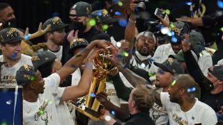 时隔50年 雄鹿队拿下NBA总冠军